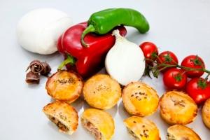 I pasticciottini salati di Antonio Campeggio