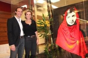 Andrea Montinari e Kerry Kennedy