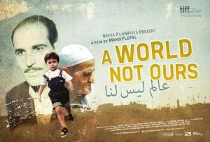 """Vincitore del premio Cinema For Peace all'ultimo festival di Berlino, """"A World Not Ours"""" del libanese Mahdi Fleifel. In programma il 6 ottobre."""