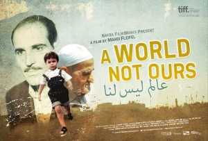 "Vincitore del premio Cinema For Peace all'ultimo festival di Berlino, ""A World Not Ours"" del libanese Mahdi Fleifel. In programma il 6 ottobre."
