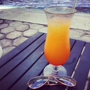 Succo di frutta in piscina - Catalonia Royal Tulum - Playa del Carmen Ph Viaggioscrivoamo.com