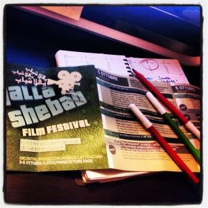 Yalla Shebab 2013: pianifico il mio film festival
