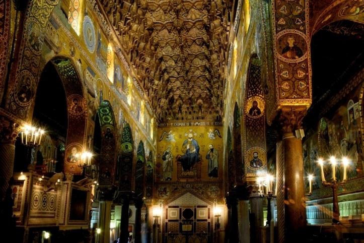 La cappella palatina di Palermo. Info: whc.unesco.org Foto © CRICD/Palatine Chapel, Palermo (Italy))