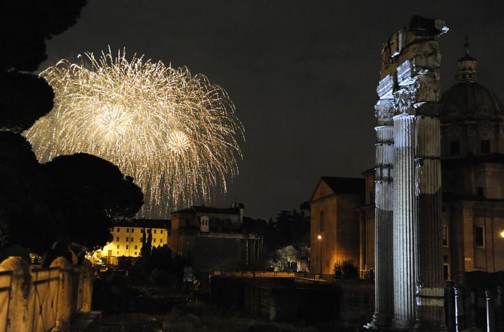 Capodanno Fori Imperiali, Roma