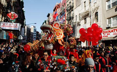 Capodanno cinese a Nw York