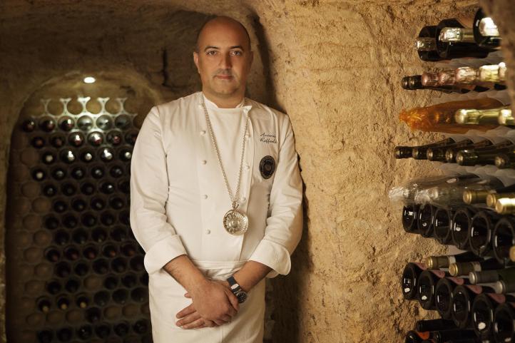 Chef Antonio Raffaele, ristorante Folie, Lecce